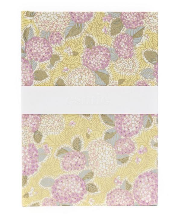 Purple Hydrangeas Medium Notebook