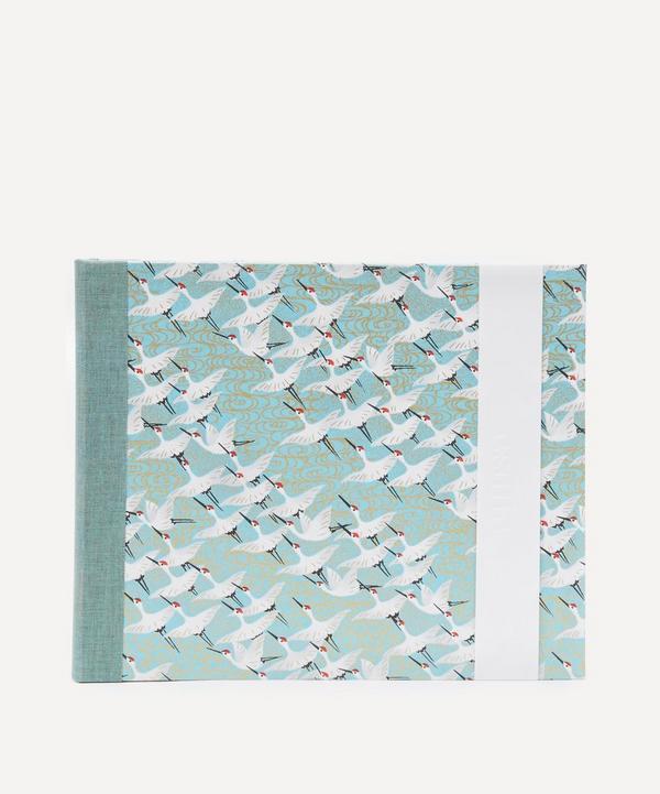 White Cranes Medium Landscape Album