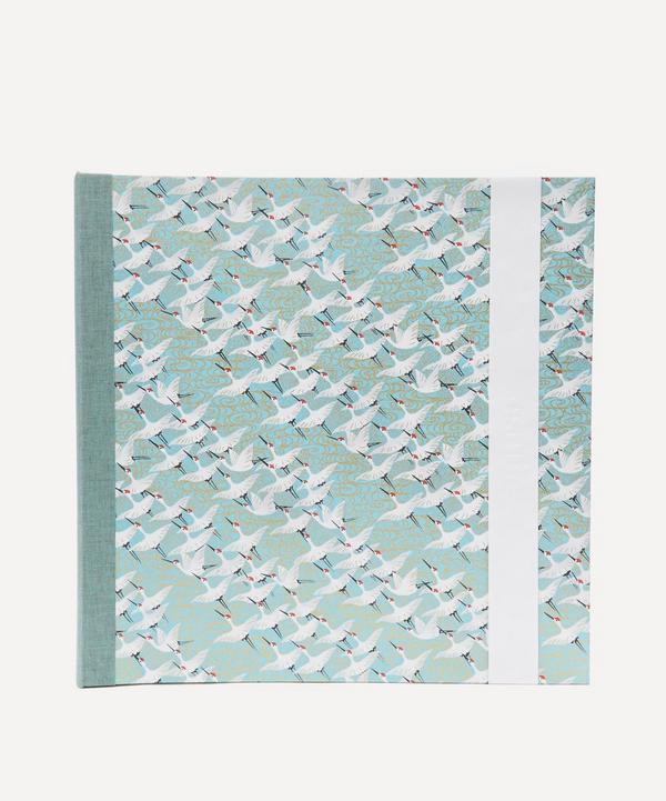 White Cranes Large Square Album