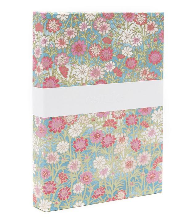 Pink and Red Daisies Small Notebook