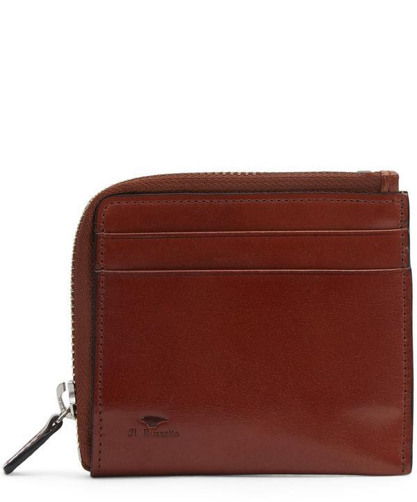 Half Zipped Wallet
