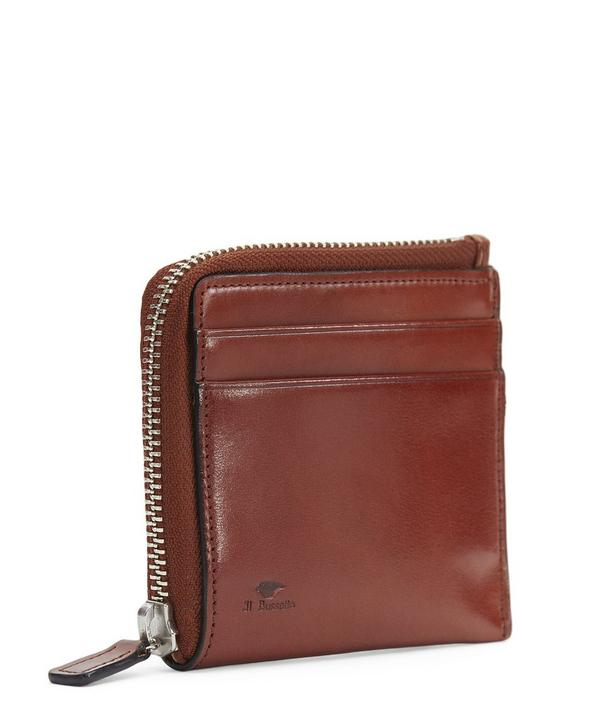 Half Zipped Wallet