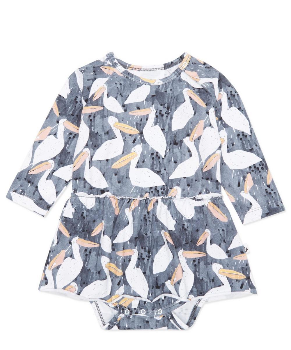 Stork Print Bodysuit 0-24 Months