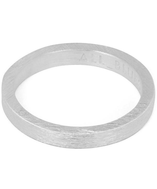 Square Brushed Ring