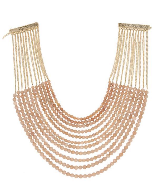 Raissa Sun Stone Necklace