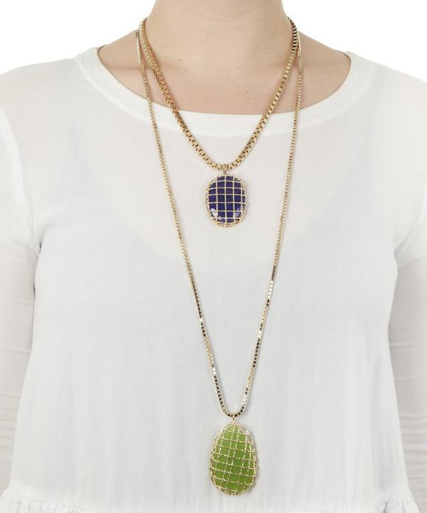 Segreto Double Layer Quartz Necklace
