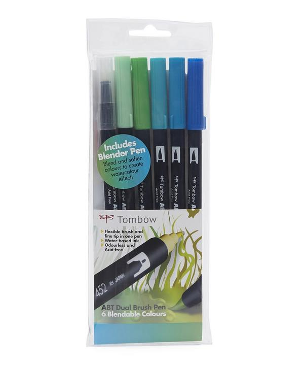 Dual-Nibbed Ocean Brush and Tip Set