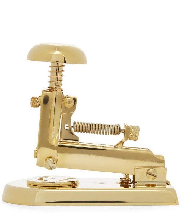 M5 Gold-Plated Desk Stapler