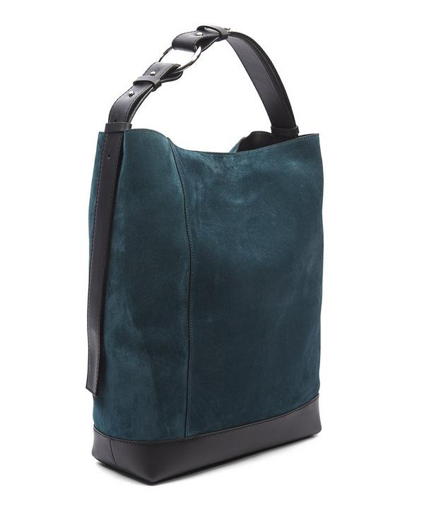 Suede Halo Pod Bag