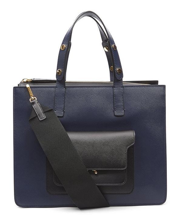 Smart Pocket Tote Bag