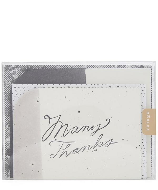 Shape Set Monochrome Notecard Set