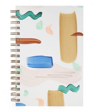 Painted Seashape Notebook