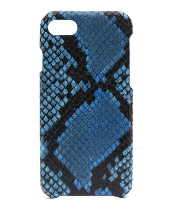 Azzurro Python iPhone 7 Case