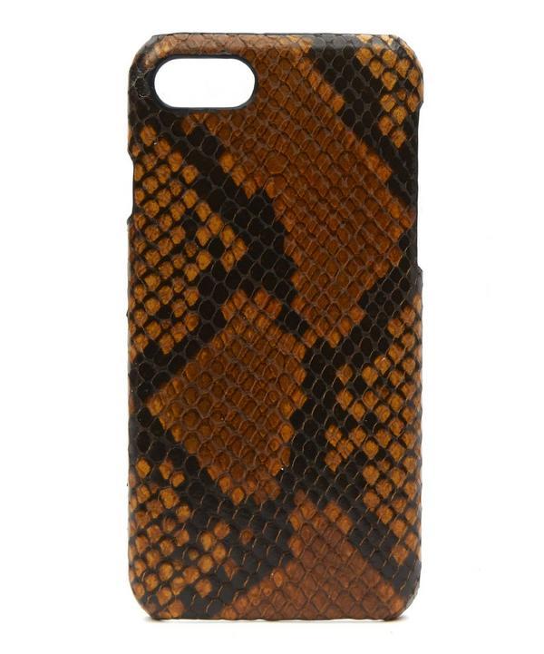 Saffron Python iPhone 7 Case