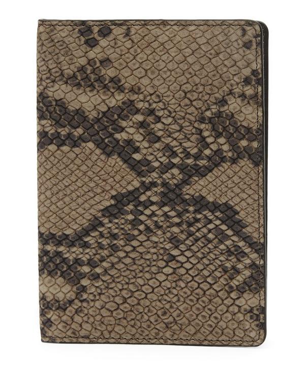 Python Passport Cover