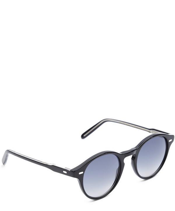 1233 Round Gradient Sunglasses