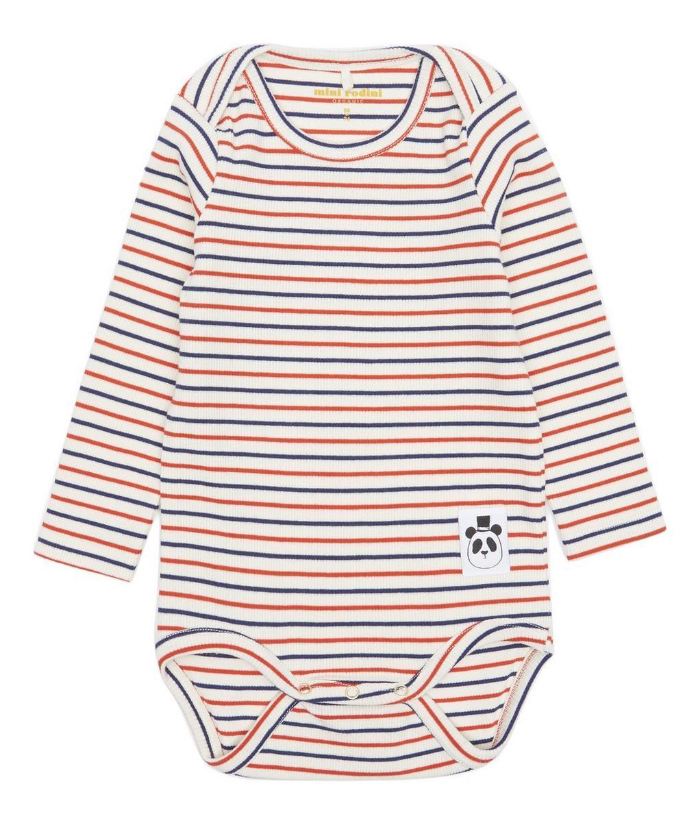Striped Rib Body 3-18 Months