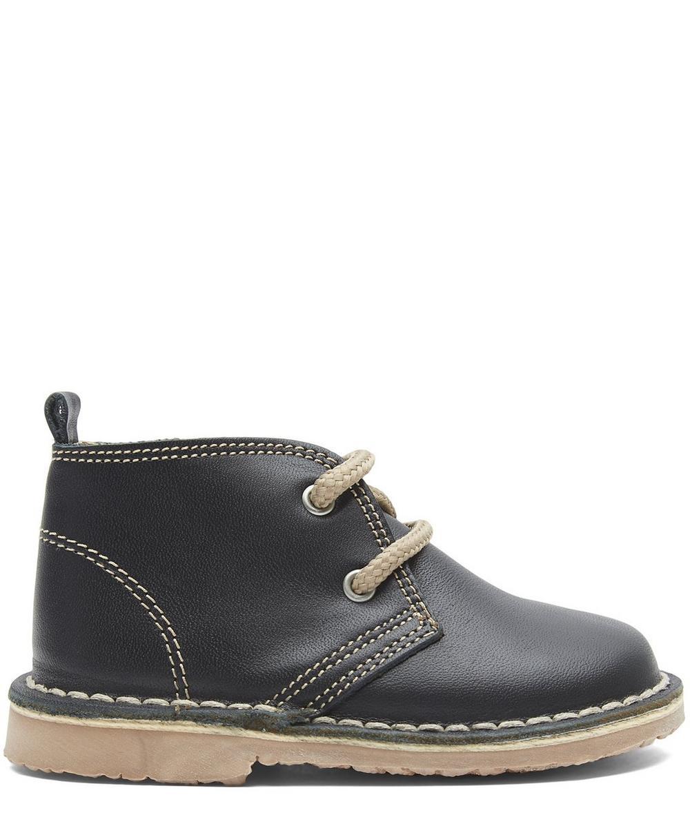 Navy Desert Boots Size 21-34