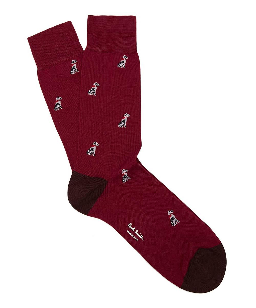 Dalmation Dog Socks