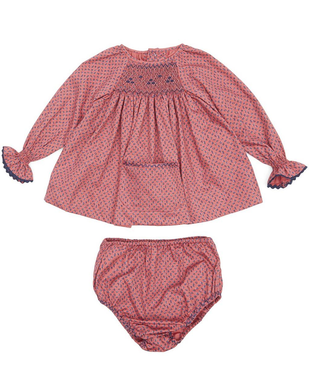 Esparta Baby Smock with Bloomers 3-24 Months