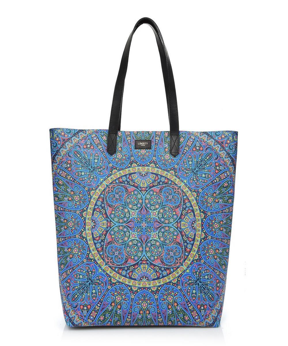 Merton Tote Bag in Andromeda Print