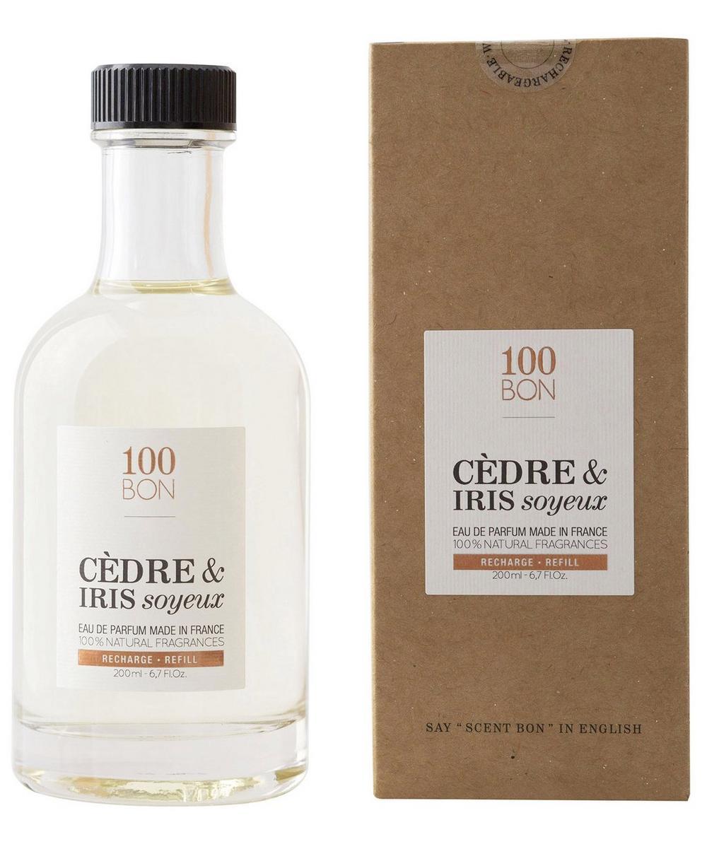 Cèdre and Iris Soyeux Eau de Parfum Refill 200ml