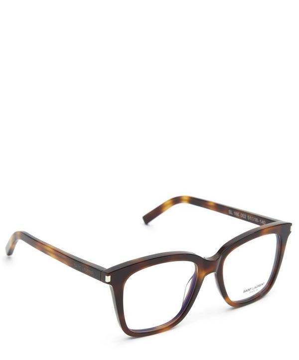 166 002 Square Havana Glasses