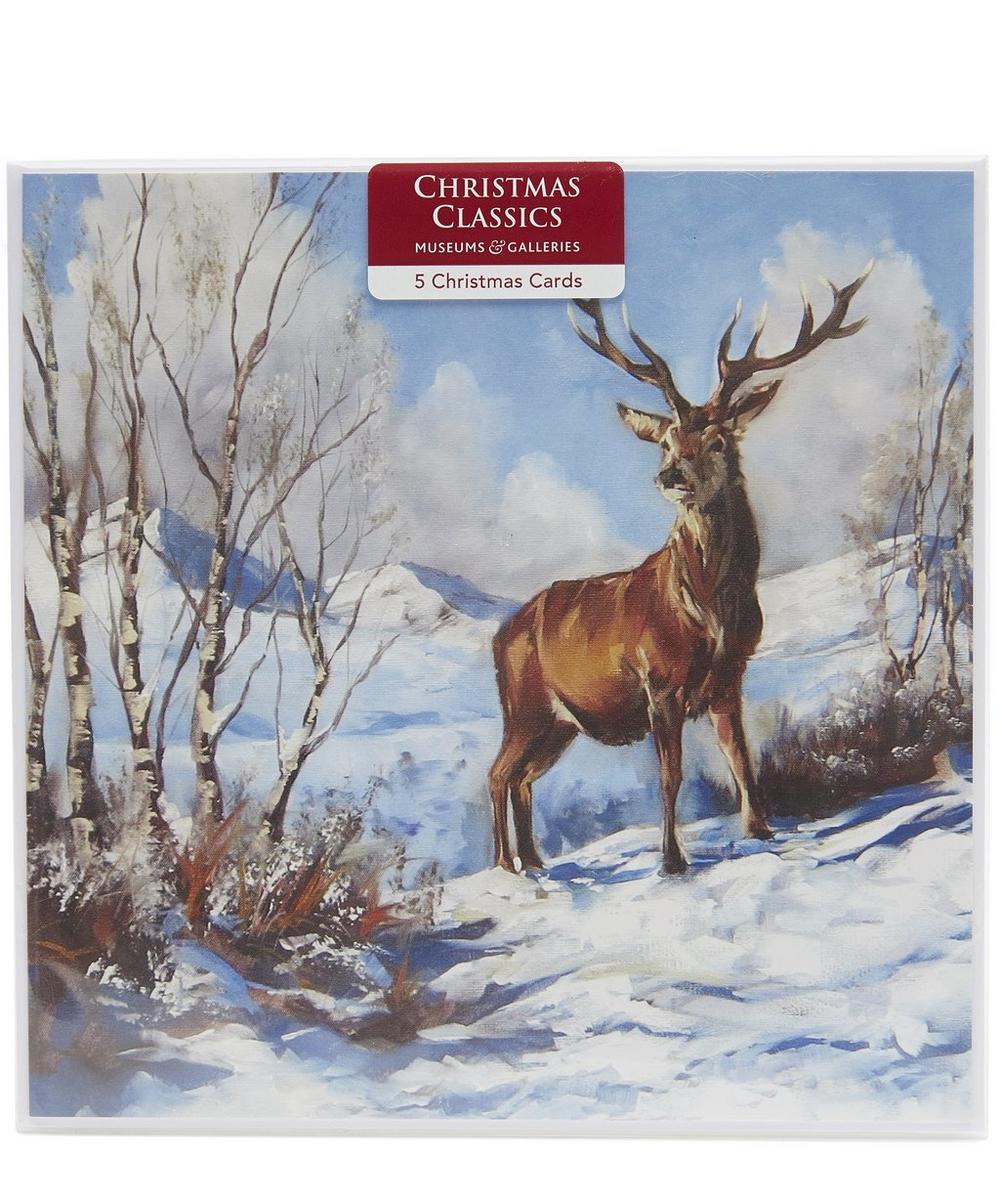 Snowy Morning Christmas Cards