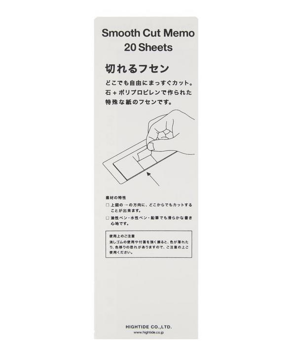 Smooth Cut Memo Pad