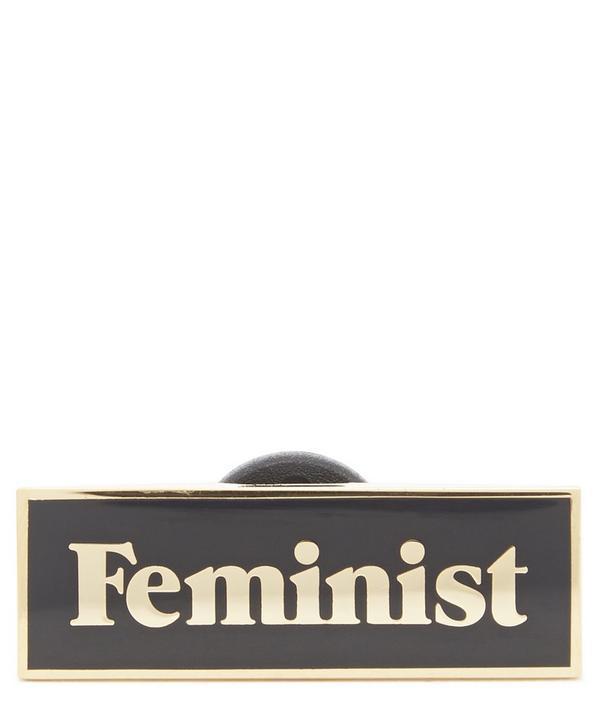 Feminist Enamel Pin Badge