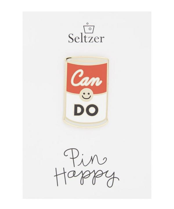 Can Do Enamel Pin Badge