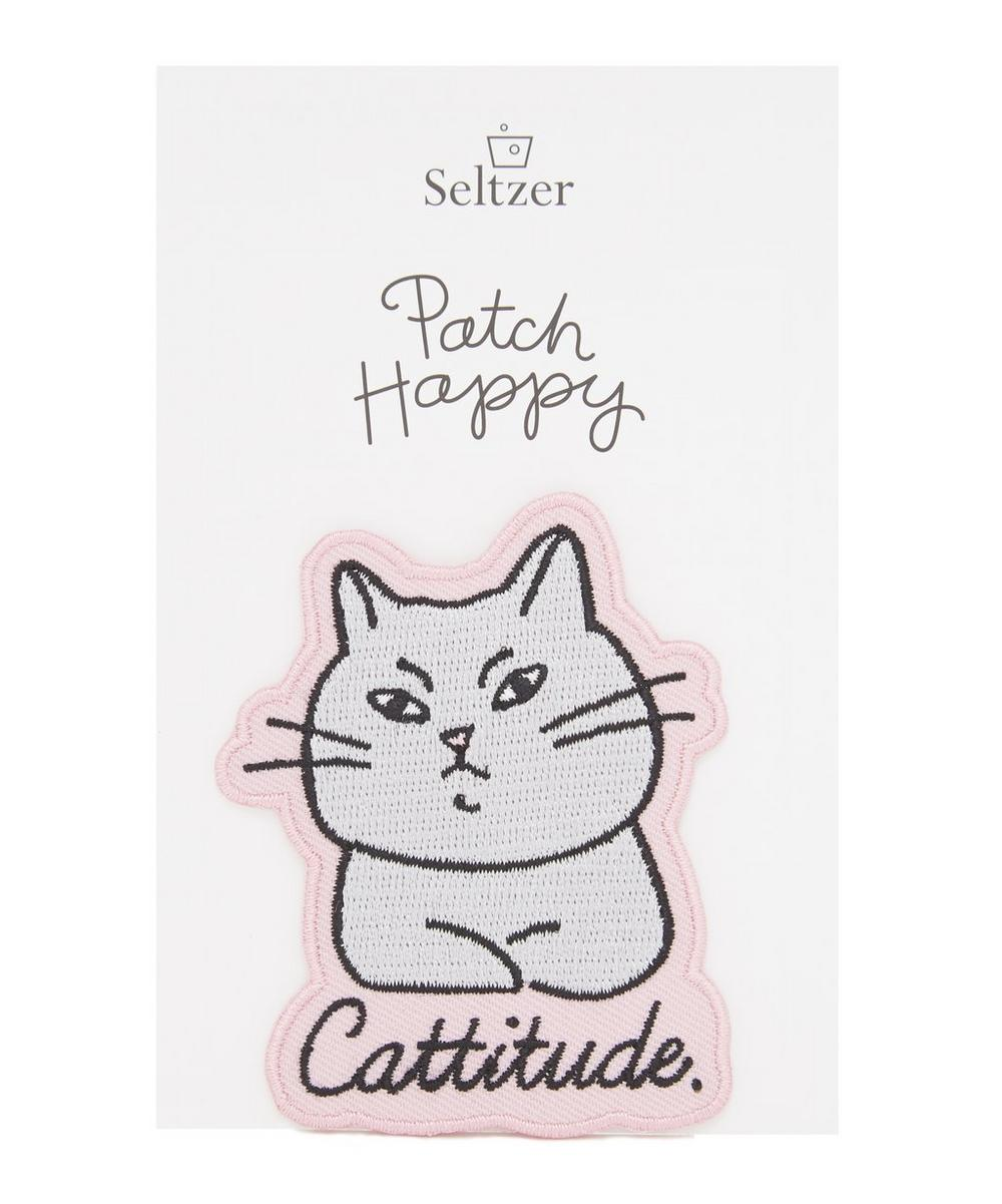 Cattitude Iron-On Patch