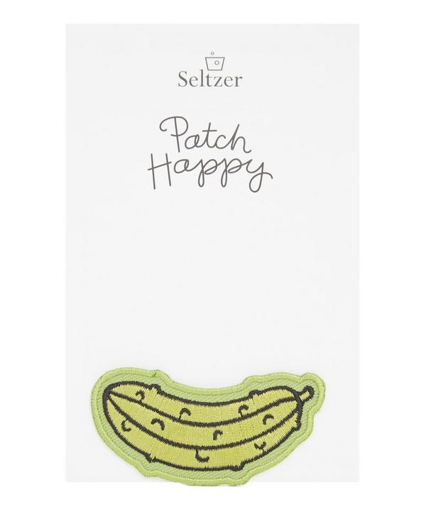 Pickle Iron-On Patch