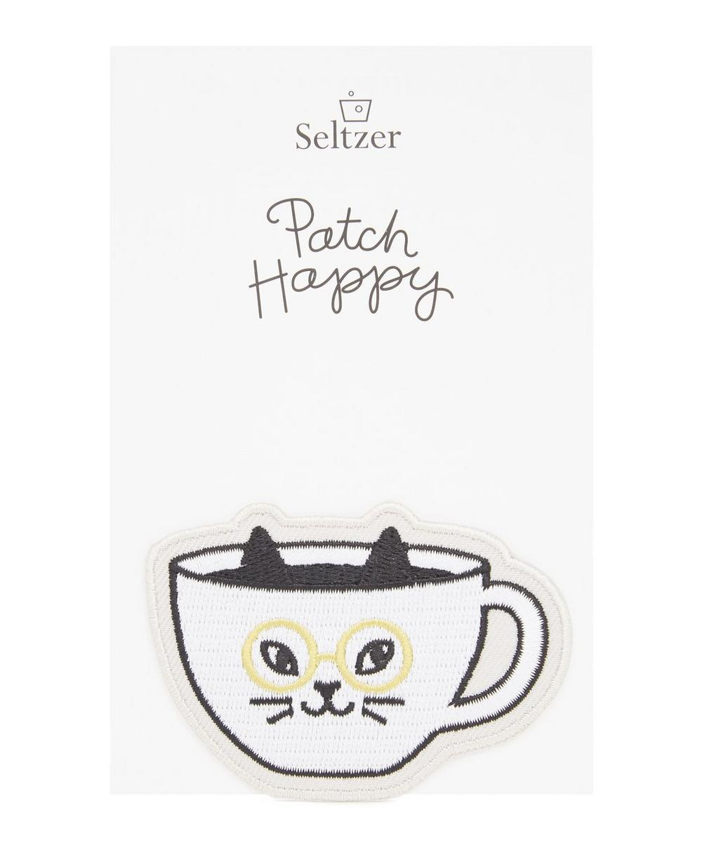 Cat Cafe Iron-On Patch