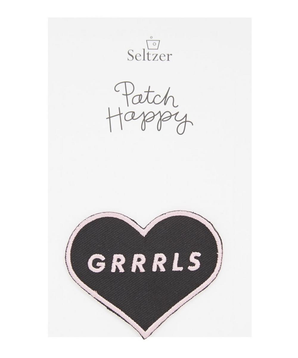 Grrrls Iron-On Patch