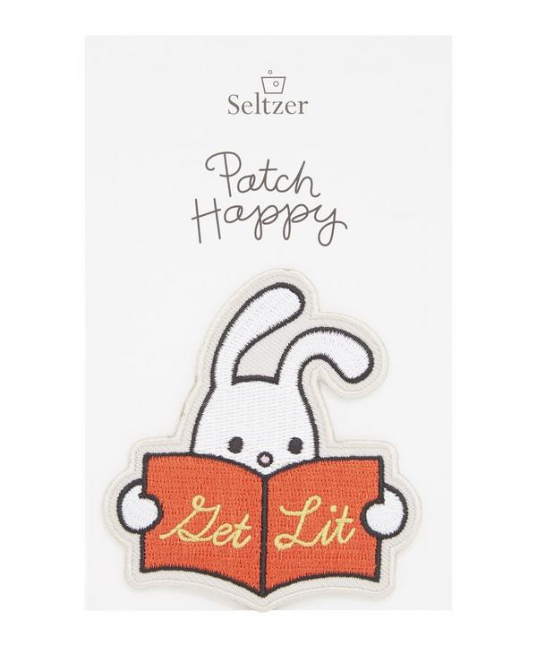 Reading Rabbit Iron-On Patch