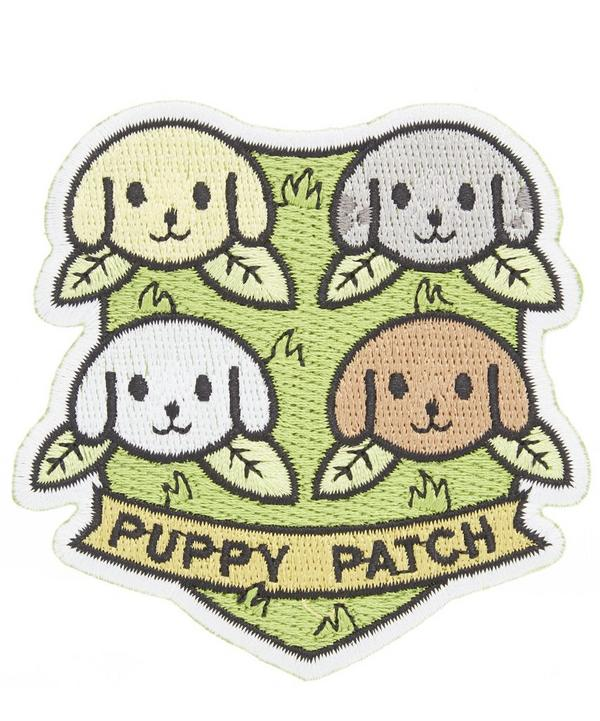 Puppy Iron-On Patch