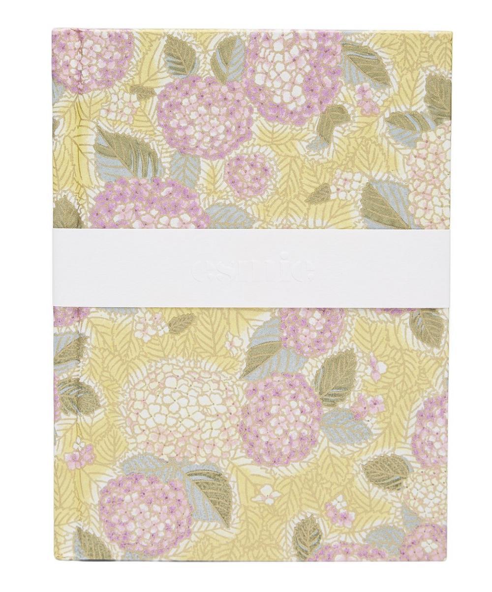 Purple Hydrangeas Small Notebook