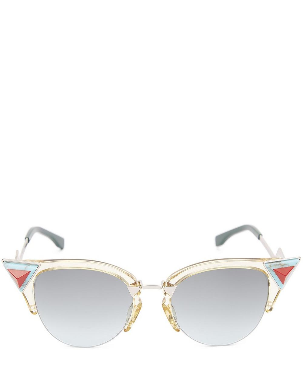 Iridia Cat Eye Sunglasses