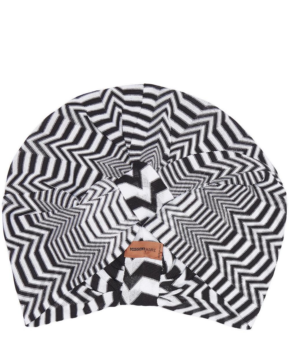 Mono Stripe Turban