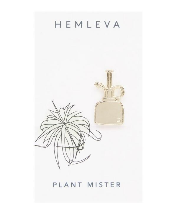 Plant Mister Enamel Pin Badge