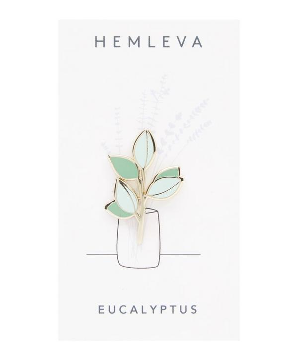 Eucalyptus Enamel Pin Badge