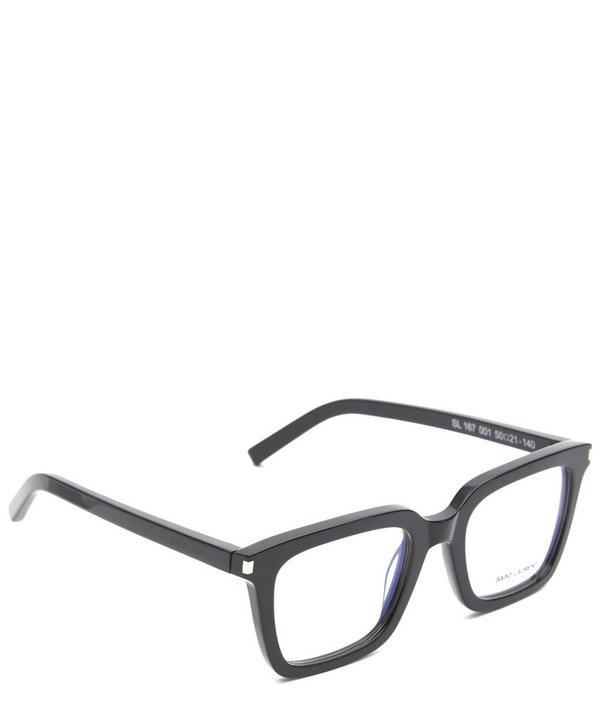 167 Chunky Rounded Square Glasses