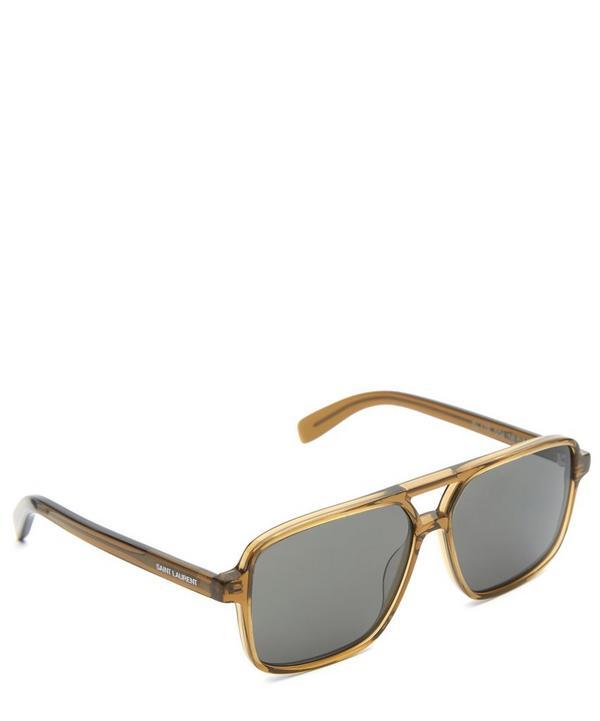 176 Retro Rectangle Sunglasses