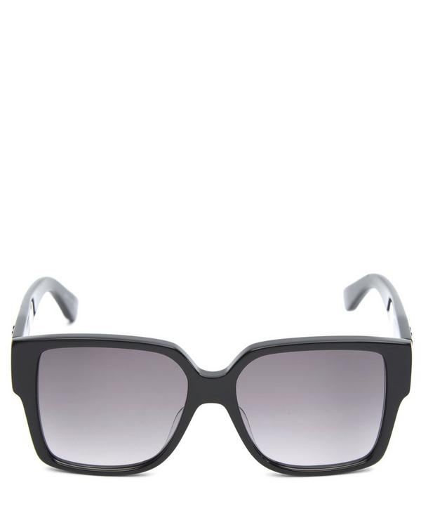 Wide Logo Sunglasses