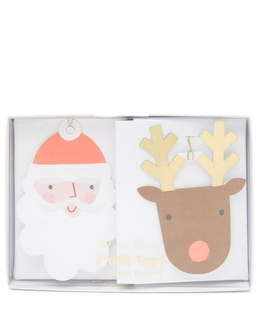 Meri Meri Santa and Reindeer Gift Tags