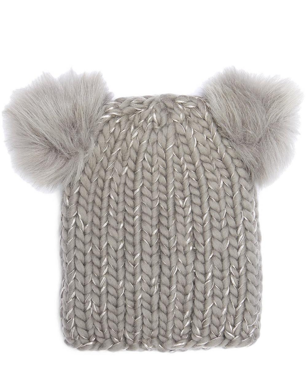 Mimi Faux Fur Bobble HatEugenia Kim Mimi Fur Bobble HatEugenia Kim Mimi Fur Bobble Hat