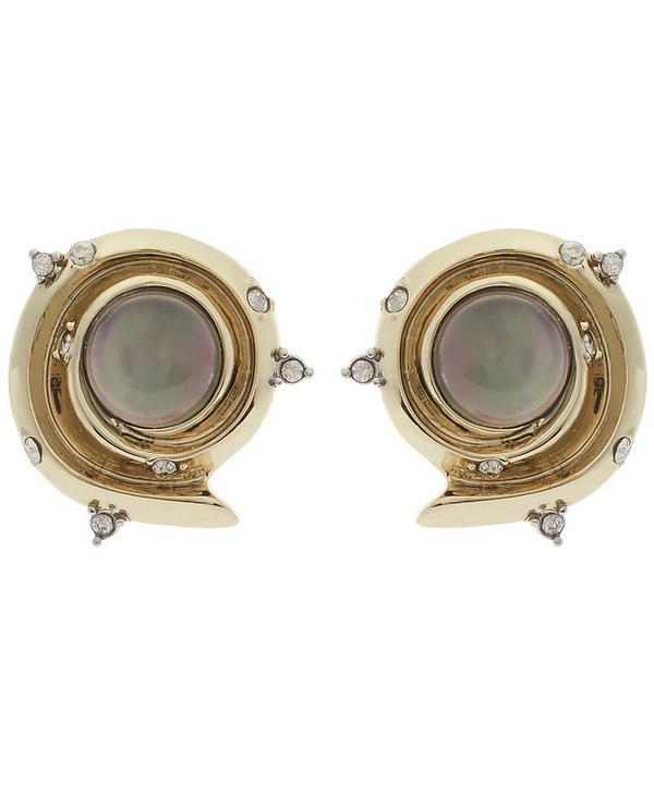 Golden Array Earrings