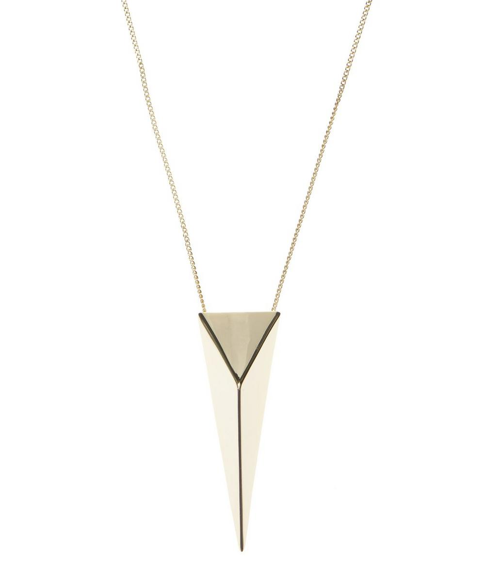 Gold-Plated Point Necklace