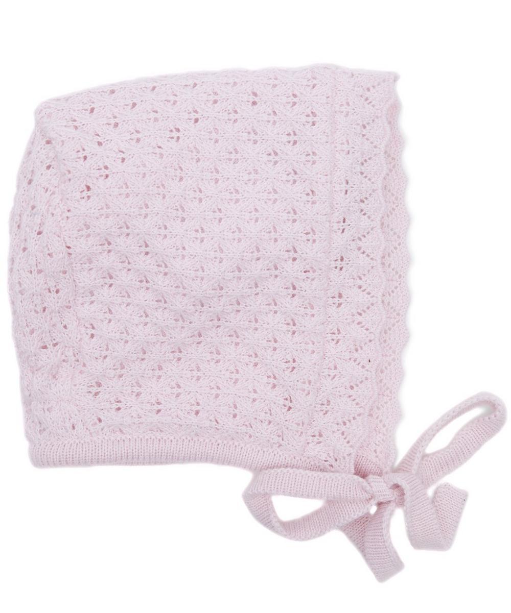 Tender Touches Knit Bonnet